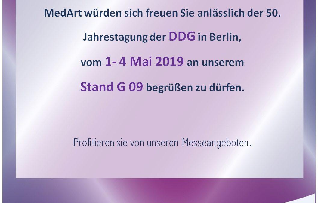 MedArt at DDG in Berlin, Germany