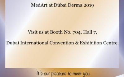 MedArt at Dubai Derma 2019