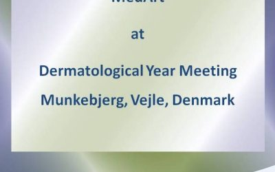 MedArt at the Danish Dermatological Annual Meeting in Munkebjerg, Vejle, Denmark, January, 2019