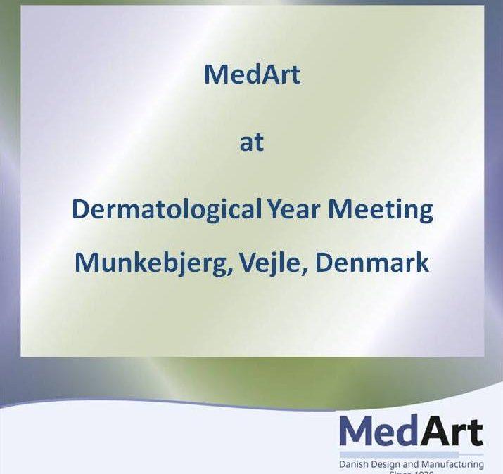 MedArt at the Danish Dermatological Annual Meeting in Munkebjerg, Vejle, Denmark, January, 2019